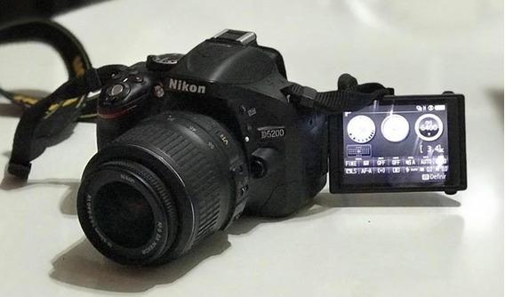 Câmera Digital Profissional Nikon D5200