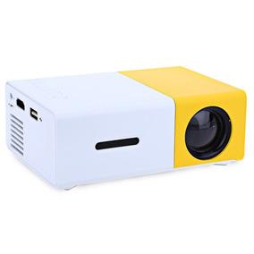 Projetor Lcd 600lm 1080p Porttil Amarelo