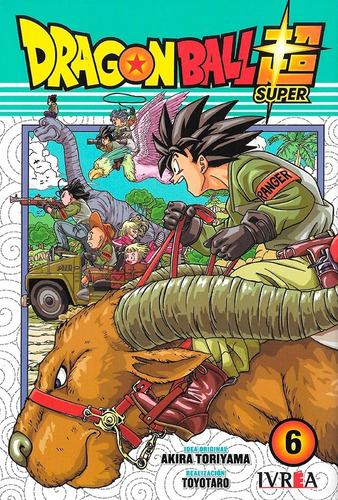 Imagen 1 de 1 de Dragon Ball Super #6 - Ivrea - Toriyama - Toyotaro