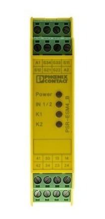 Rele De Segurança Phoenix Contact Psr-scp-24uc/esm4/3x1/1x2b