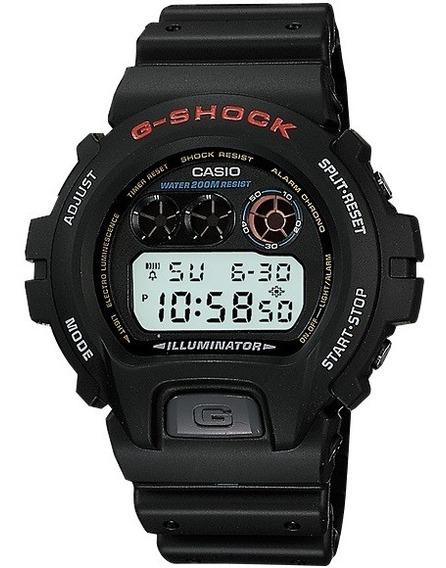 Relógio Casio G-shock Masculino Digital Dw-6900-1vdr Preto