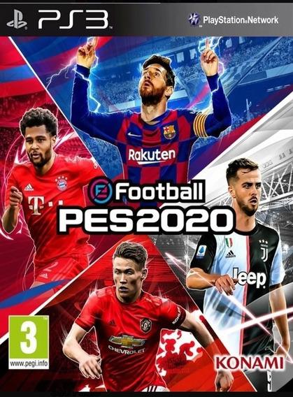 Pro Evolution Soccer 2020 Pes 18 Psn Ps3 Português + Brinde