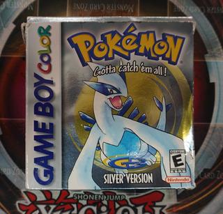 Pokemon Silver Game Boy Color Gbc Caja Completo