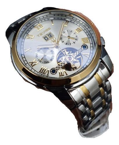 Reloj Tevise Tv9005 Caballero 100% Original Acero Inoxidable