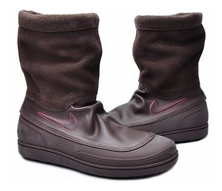 Nike Botas Zapatillas Marrones Mujer Waterprof
