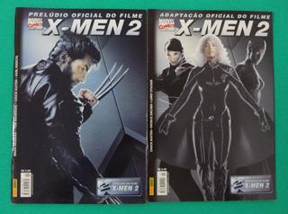 Lote 2 Hqs Prelúdio E Adaptação Oficial Do Filme X-men 2