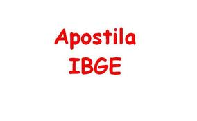Apostila Ibge