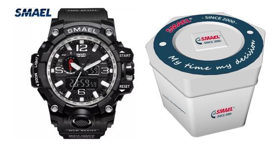 Relógio Smael Militar Original Analógico Digital Com Caixa