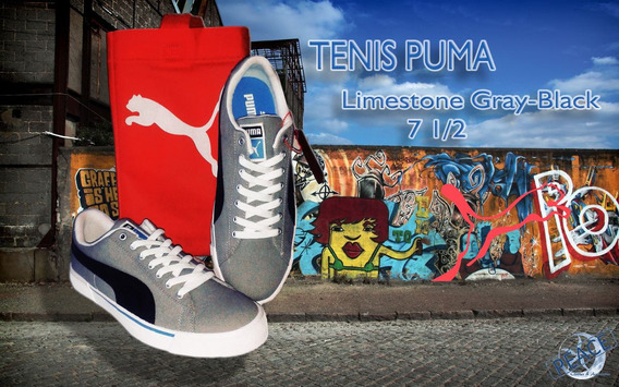 Geniales Tenis Puma Limestone Gray-black