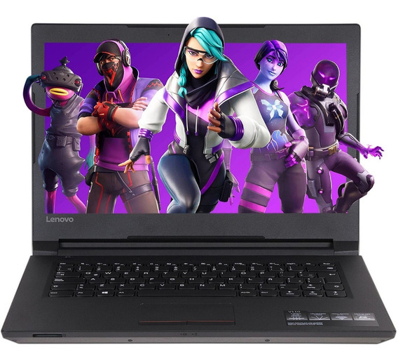 Laptop Gamer Lenovo V110-14ast Amd A9 9420 8gb 1tb Pantalla 14 Radeon Windows 10 Pro 80tc001hlm