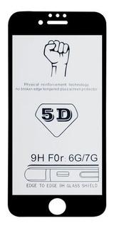 10x Película Vidro 5d Curva iPhone 6 6s 7 8 Plus X Atacado