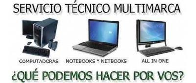 Servicio Tecnico De Pc A Domicilio, Redes, Celulares, Asesor