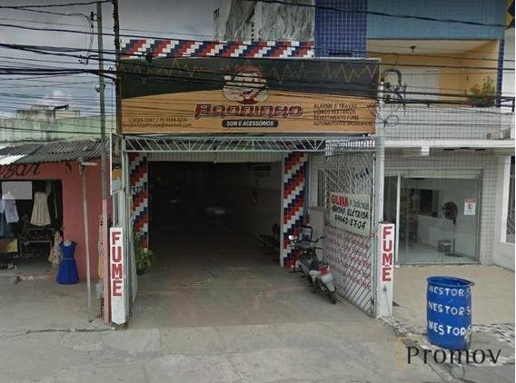 Alugo! Ótimo Galpão Comercial Na Av. Nestor Sampaio - Ponto Novo - Ga0015