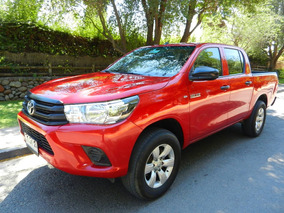 Toyota Hilux Diesel 4x4 Aire Ac Frenos Abs Airbag Credito