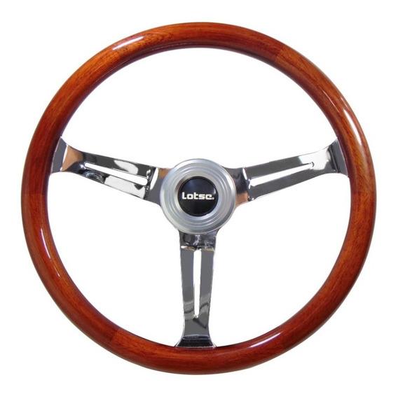 Volante Lotse Class Wood Madeira Fusca Puma Vw Gm Porsche