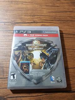 Mortal Kombat Vs Dc Universe Combo Pack Playstation 3 Ps3