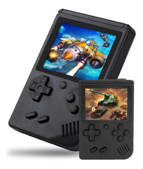 Mini Vídeo Game Portátil 400 Jogos Classicos Cabo P2 Av