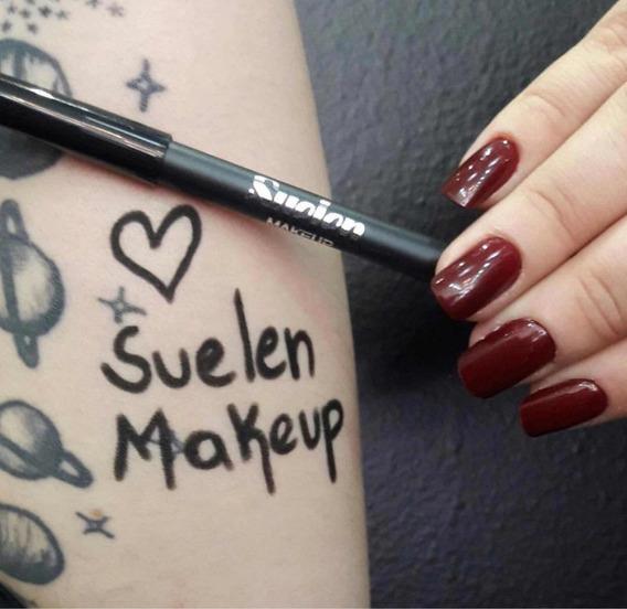 Lápis De Olhos Preto - Suelen Makeup (a Prova Dágua)