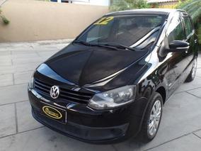 Vw - Volkswagen Fox Trend 2011/2012 1.0 4pts Completo Preto
