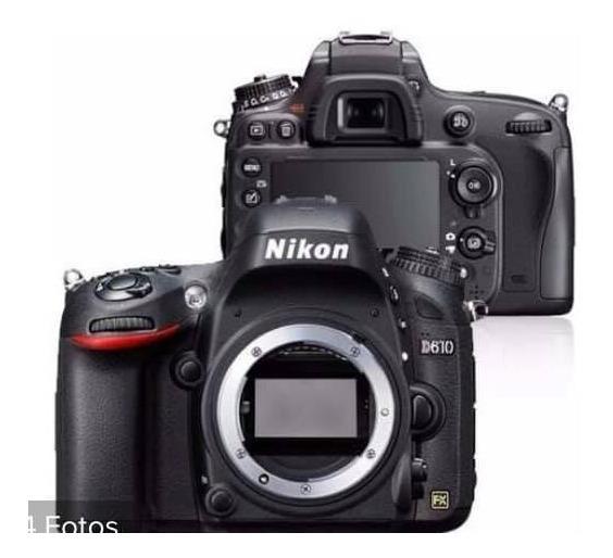 Maquina Fotográfica Nikon D610 - Corpo Da Máquina