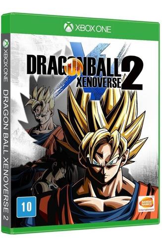 Dragon Ball Xenoverse 2 - Mídia Física - Xbox One - Novo