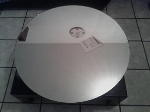 Espejo Redondo 5 Mm Bisel 1 Pulgada Diámetro 60 Cm + Envío