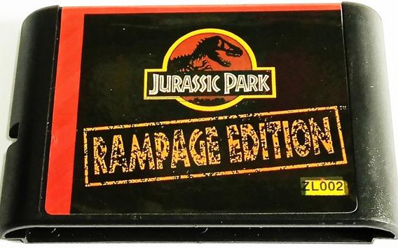 Fita De Mega Drive Do Jurassic Park Importada