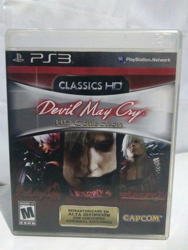 Jogo Devil May Cry Hd Collection Completo Ps3 R$75