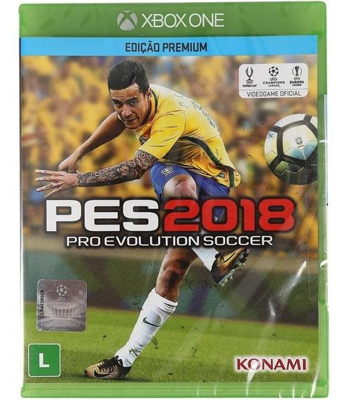 Pro Evolution Soccer Pes 2018 Xbox One Mídia Física Novo