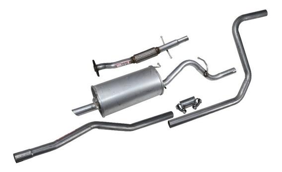 Kit Completo Escapamento Ford Ka Endura 1.0 1.3 97 A 99
