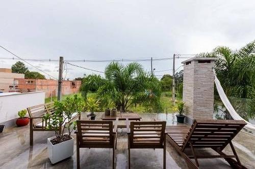 Casa À Venda Na Rua Harry Delmonte Janz, Mossunguê, Curitiba - Pr - Liv-12367