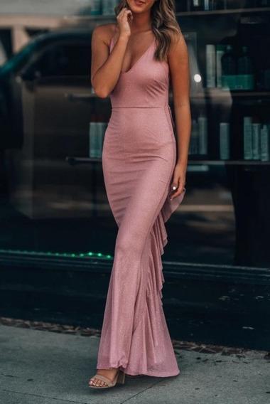 Vestido, Elgante, Dama,de Noche