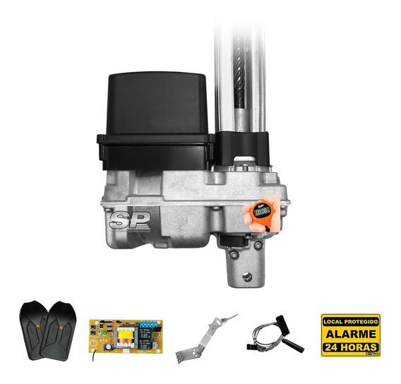 Kit Motor De Portão Eletrônico Basculante Ppa 1/4 Rápido 7s
