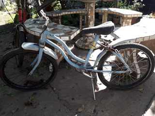 Bicicleta De Niño A Reparar. Liquido