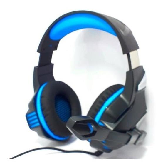 Headset Gamer Pc Fone Ouvido + Adaptador Ps4 Ej-903