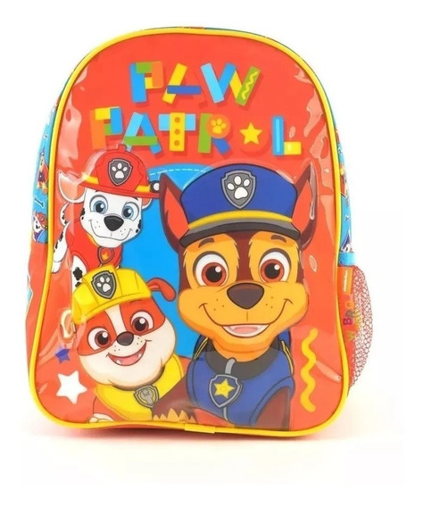 Mochila Jardin Paw Patrol Linea Original!!!