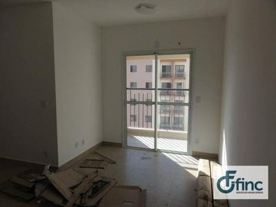 Apartamento Com 3 Dormitórios Para Alugar, 66 M² Por R$ 1.100/mês - Jardim Nova Manchester - Sorocaba/sp - Ap1008
