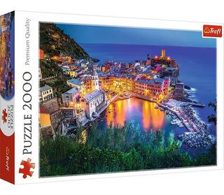Rompecabezas Puzzle 2000 Piezas Trefl Vernazza Italia 27086