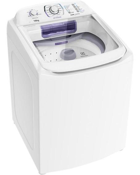 Lavadora De Roupas Electrolux 16kg, 12 Programas De Lavagem, Branca - Lac16 - 110v