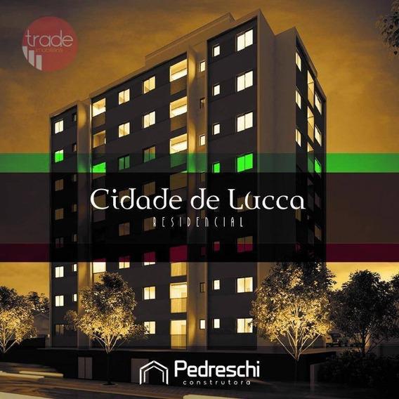 Apartamento Com 1 Dormitório À Venda, 34 M² Por R$ 151.000 - Quintas De São José - Ribeirão Preto/sp - Ap4580