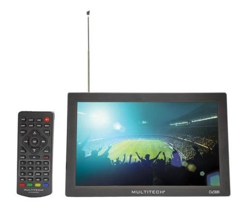 Imagen 1 de 2 de Televisor Portatil De 9  Tdt Marca Multitech Negro.