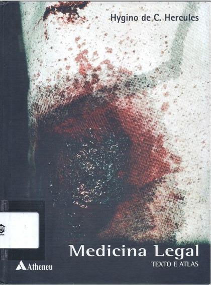 Medicina Lega Texto E Atlas - Hygino