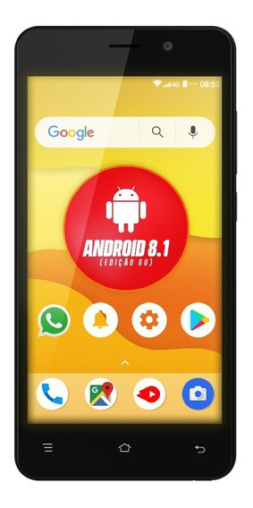Smartphone Navcity 5 Np-852 4g Android 8.1 Q-core Com Capa