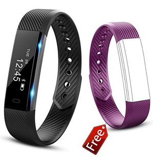 Fitness Tracker Watch Smart Band Con Step Podometro Bluetoot