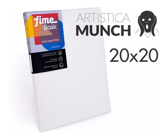 Bastidor Entelado Fime Linea Basic 20x20