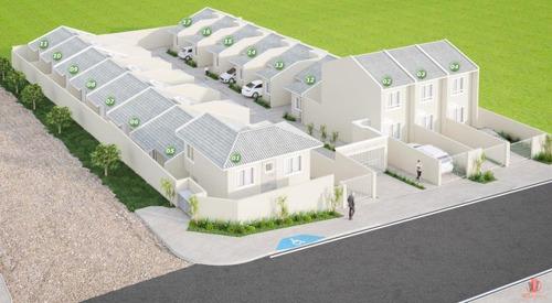 Casa Em Condomínio Para Venda Em Ponta Grossa, Ronda, 2 Dormitórios, 1 Banheiro, 1 Vaga - L-eprovid_1-1268417