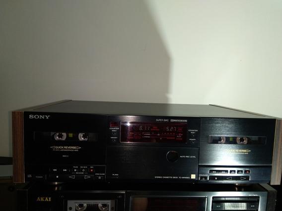 Deck Sony Duplo Autoreverso Tc-wr99es Não Akai,pionner,gradi