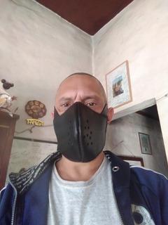 Mascaras De Cuero Auto Agustables Para Motociclistas