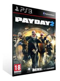 Payday 2 Ps3 Mídia Digital Psn Envio Imediato