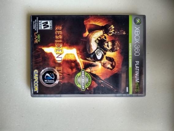 Jogo Xbox 360 Original Resident Evil 5